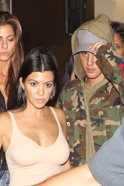Justin Bieber in romance with Kourtney Kardashian, will it be true